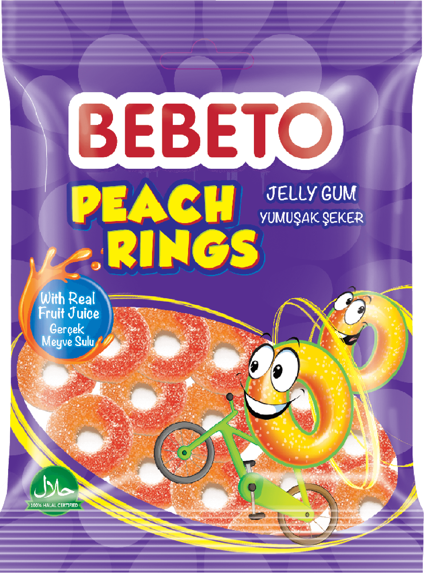 Bebeto Peach Rıngs