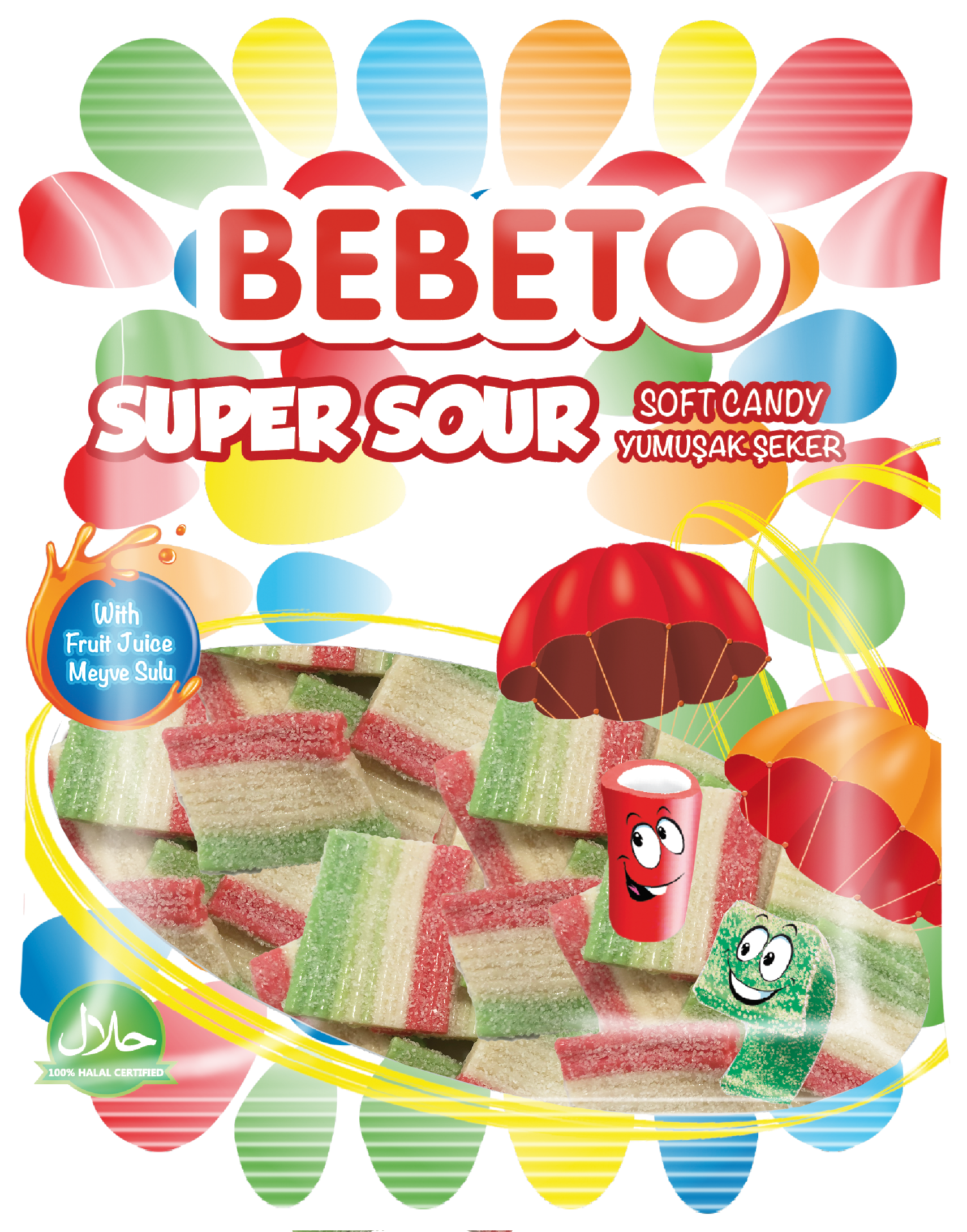 Bebeto Super sour