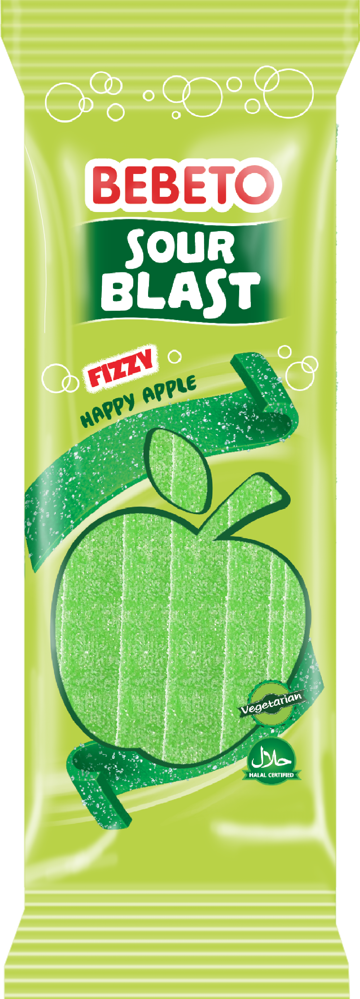Sour Blast Fizy Apple