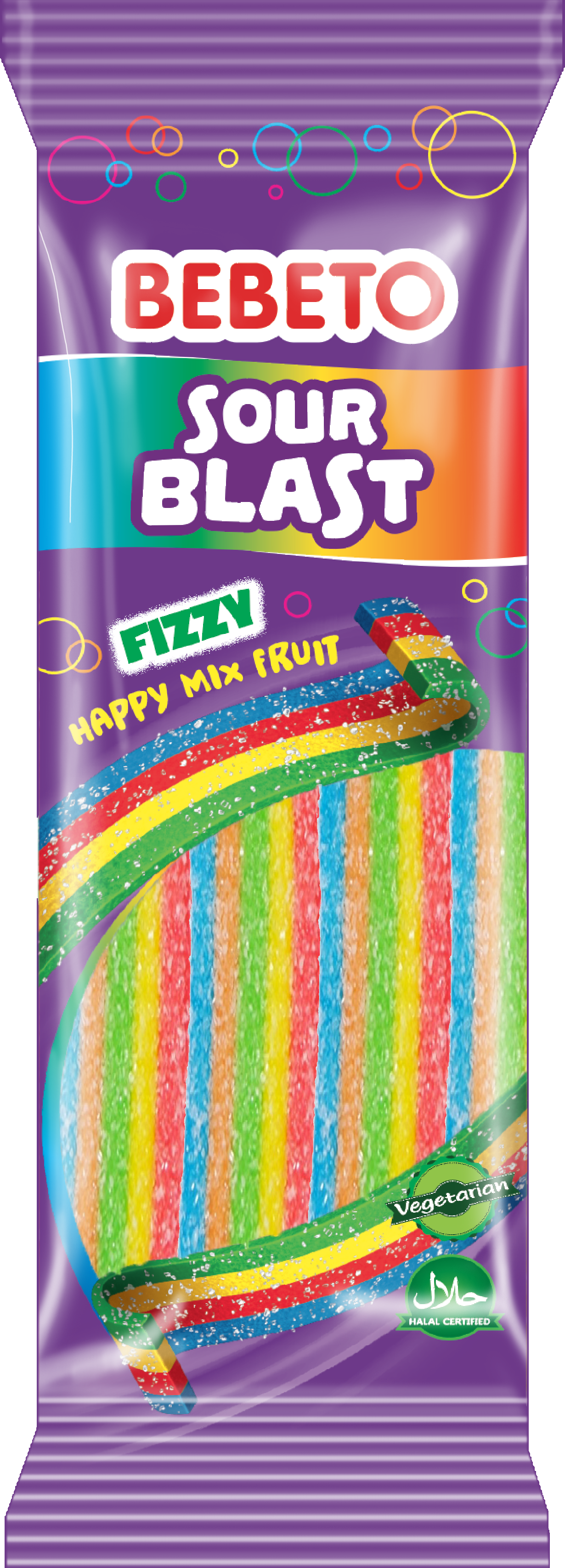 Sour Blast Fizy Mix Fruit